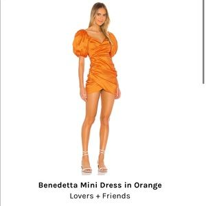 Lovers and Friends Benedetto Mini dress